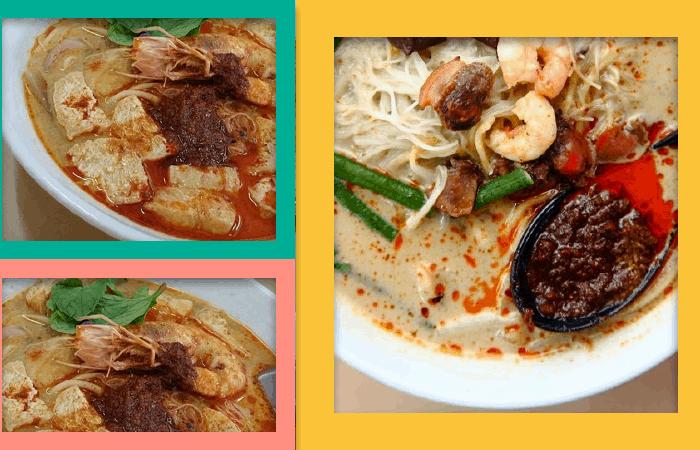 Penang White Curry Mee